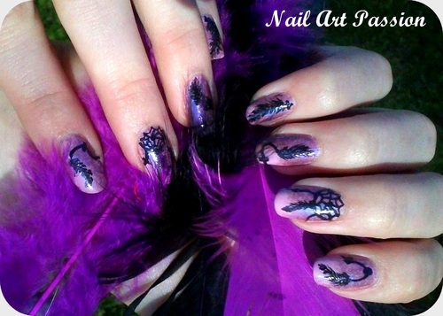 Nail art Attrape rêves !