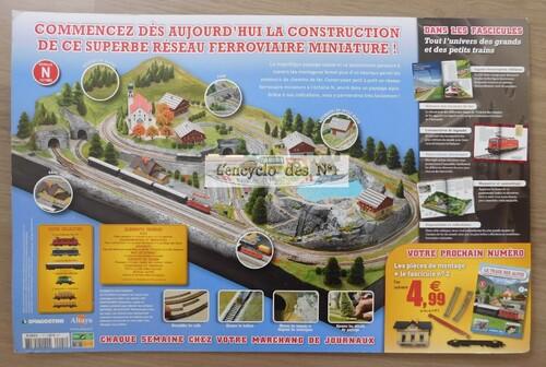 N° 1 Construisez le train des Alpes - Lancement