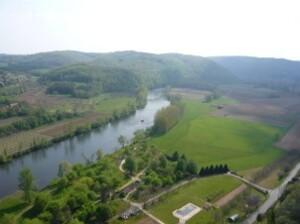 Marqueyssac - Vue sur la Dordogne