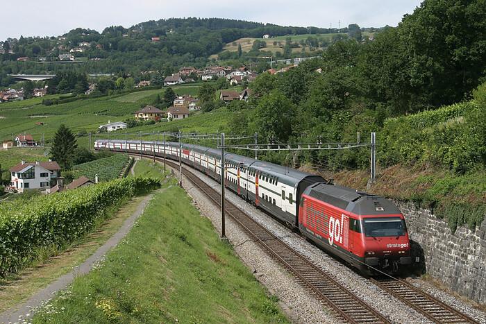 Personne Ne Connaît Ce Train Incroyable En Suisse...