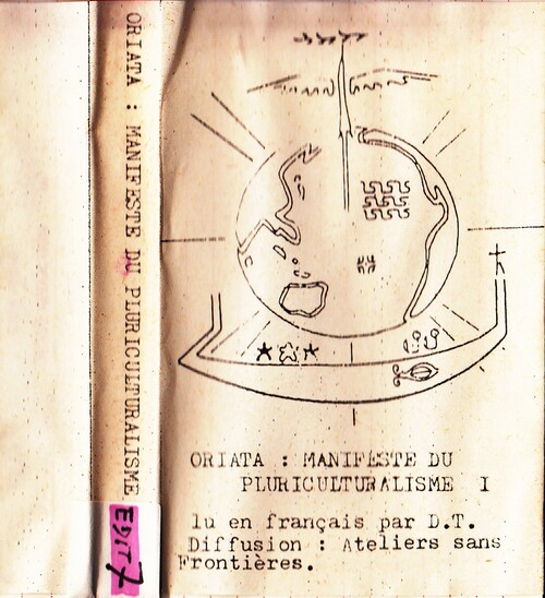 archive 1986  : MANIFESTE DU PLURICULTURALISME