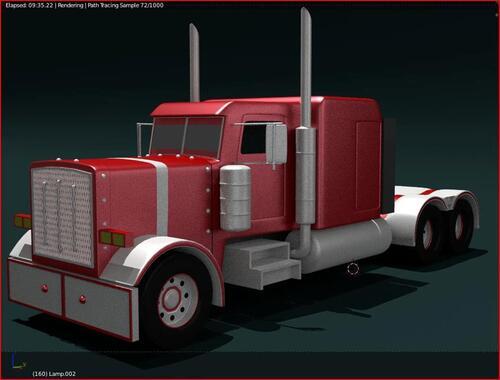 camion peterbilt  (date de realisation 2010)