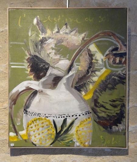 """""""Tournesols prêts à être moissonnés"""" la très belle exposition 2014 de Karin Neumann"""