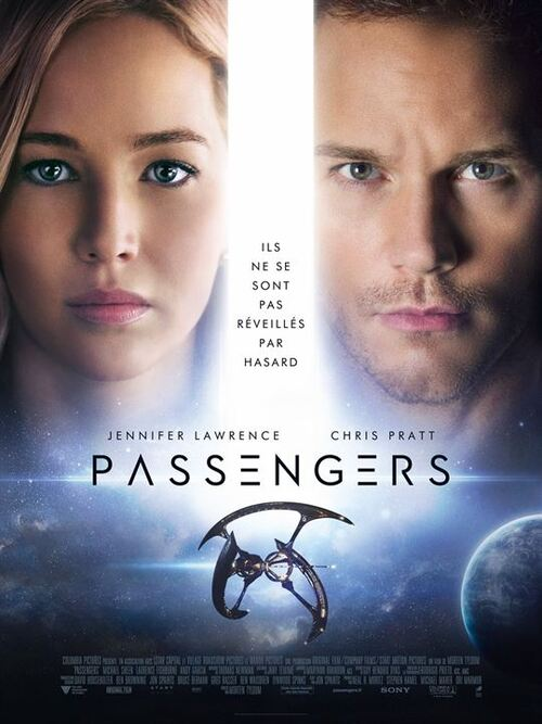 """""""Passengers"""" Excellent, mais une romance qui aurait pu être plus intense : 18/20"""