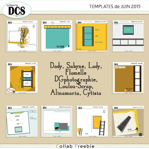 DCS et les templates de Juin
