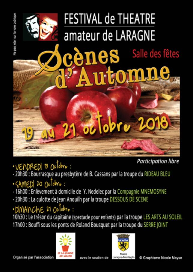 *festival de théâtre à Laragne-Monteglin