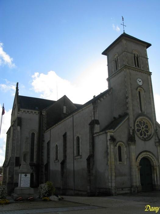 Pays de Loire, La Roche sur Yon, eglise st Andre