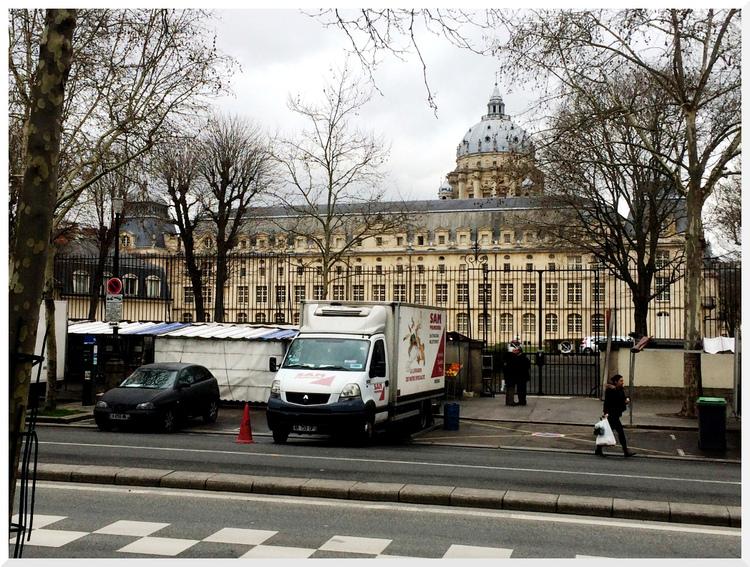 Flâner à Paris. De la Gare d'Austerlitz à Port Royal.