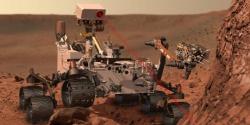 Un robot sur Mars : Curiosity