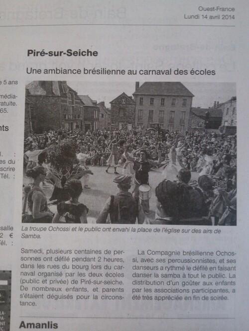 - Ouest-France 14/04/14