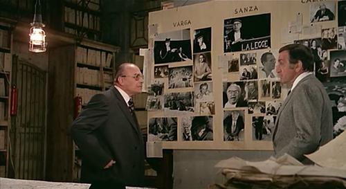 Cadavres exquis, Cadaveri eccelenti, Francesco Rosi, 1975