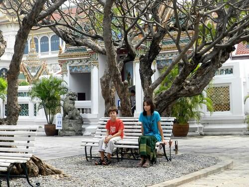 THAILANDE Bangkok Le grand palais