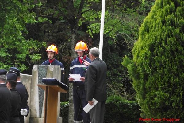 La commémoration  du 8 mai à Châtillon sur Seine