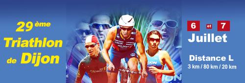 Triathlon de Dijon 6 et 7 juillet 2013
