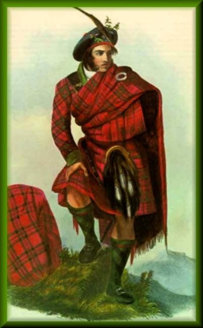 portrait écossais