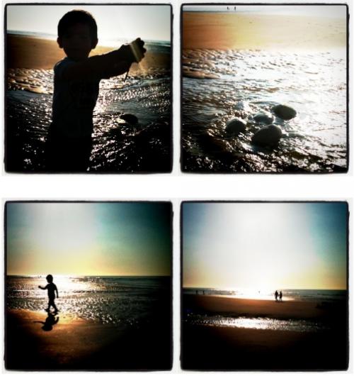 à la mer...