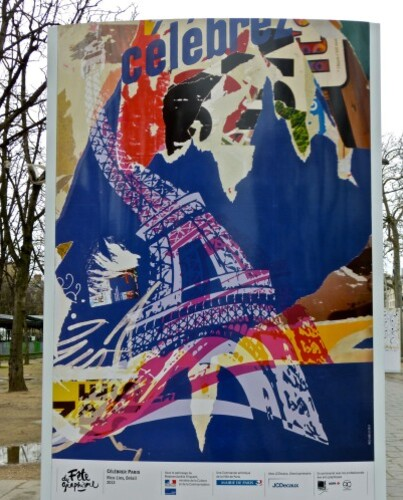 Fête du graphisme affiche Rico Lins Brésil champs-ély