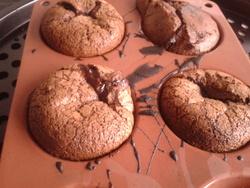 Fondants coeur chocolat