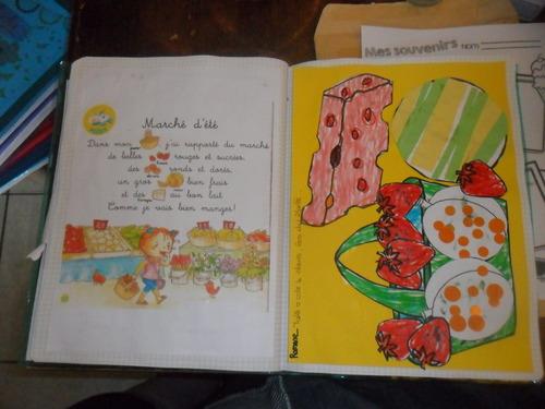 Nos activités de juillet dans le cahier....