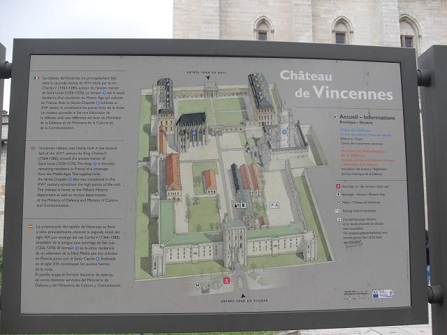Visite au Château de Vincennes.