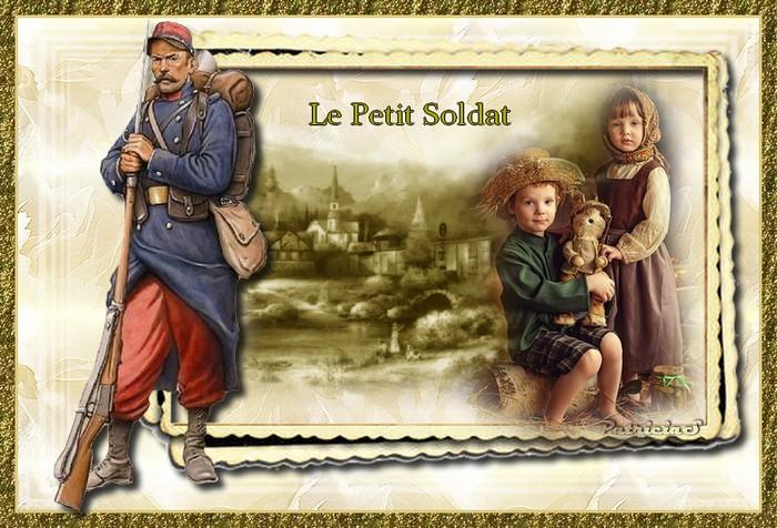 Bonne semaine Le petit soldat chez nathie