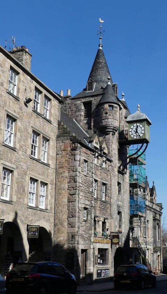 Edimbourg : la vieille ville...