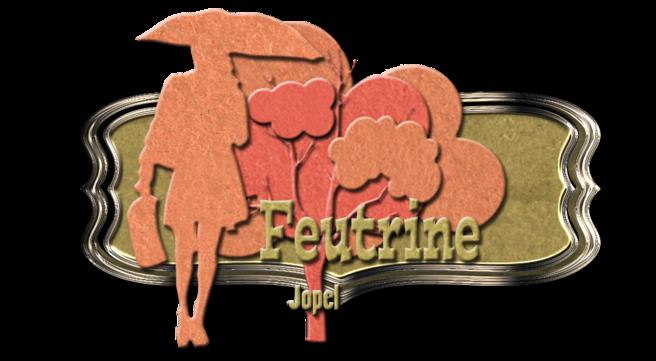 Kit feutrine orangé. automne par Jopel