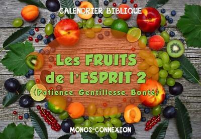 Calendrier Biblique - Les Fruits de l'Esprit (2) - La Patience