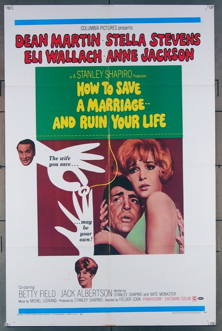 HOW TO SERVE A MARRIAGE AND RUIN YOUR LIFE BOX OFFICE USA 1967