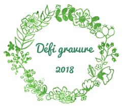 Défi gravure 2018 - 3/6 Tampon caravane