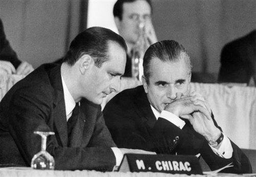 Chirac, maintenant ministre de l'intérieur