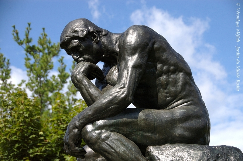 Jardin du Musée Rodin : Le Penseur
