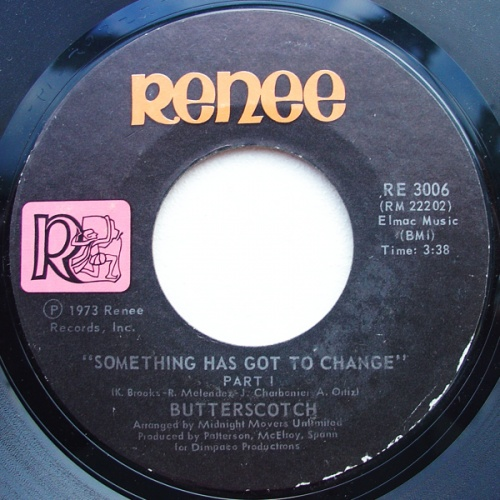 1973 : Single SP Renee Records RE 3006 [ US ]