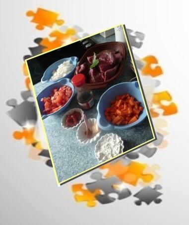 Boeuf a la tomate (cookéo)