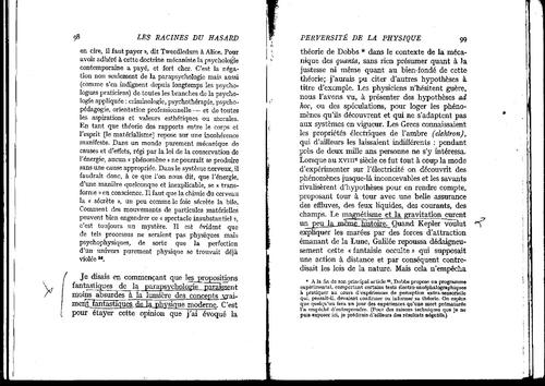 """A.Koestler """"les racines du hasard"""" pages 92 à 99"""