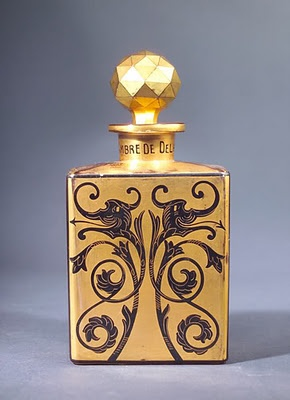 a perfume bottle for Babani, circa 1920