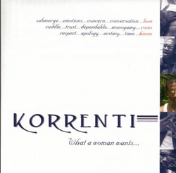 Korrenti - What A Woman Wants - 2002