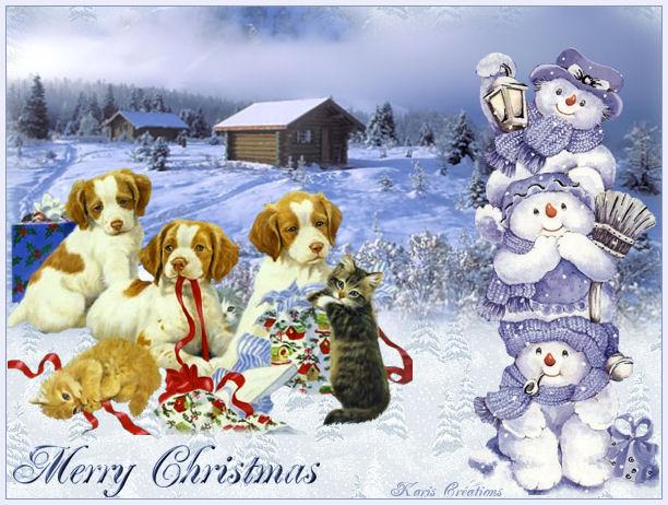 """Joyeux Noel """"Animaux"""" 10"""