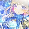 Thème manga girl - bleu