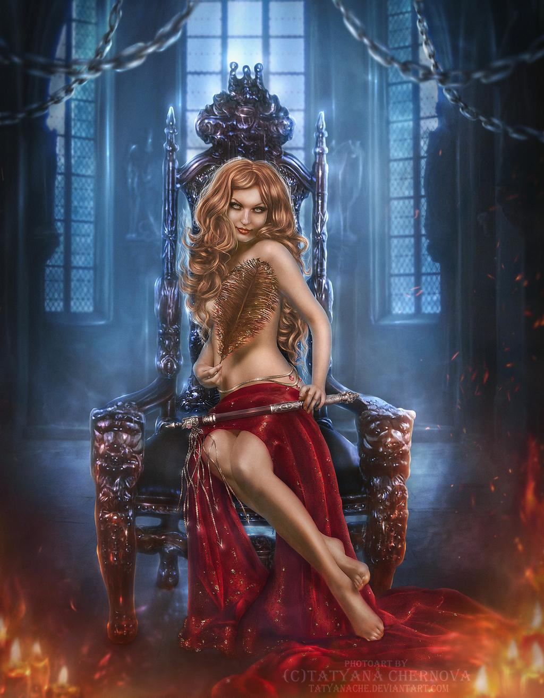 Fantasy woman by Tatyanache