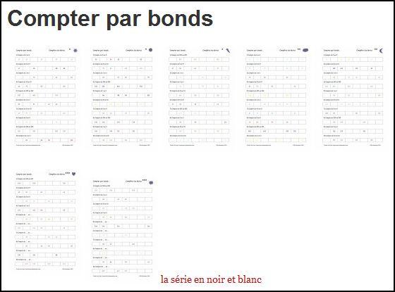 Compter par bonds