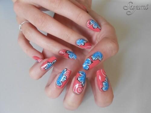 Nail Art Bucoliques