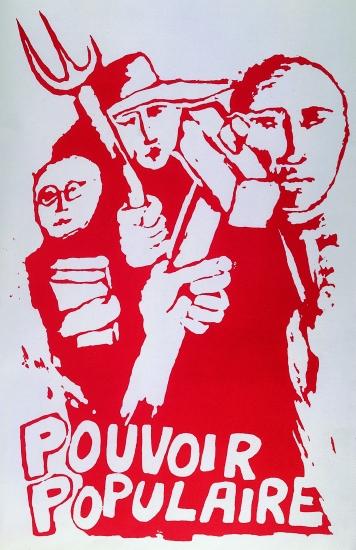 Affiche de mai 1968