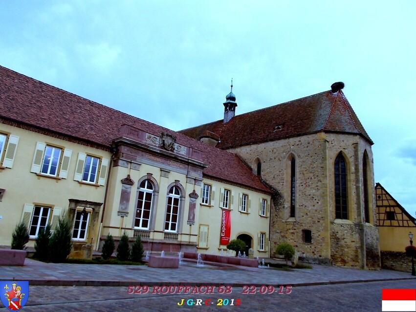 22/09/2015   EGLISE  N -D  DE  L'ASSOMPTION   ROUFFACH  68   1/5   D  30/04/2016