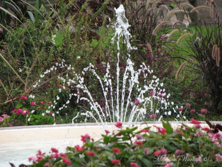 Jeux d'eau colmariens : Devant la cour d'Appel