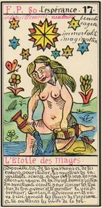 """Arcane 17 - """"Les Etoiles""""... ou : Queue de Paon, pour l'alchimiste."""