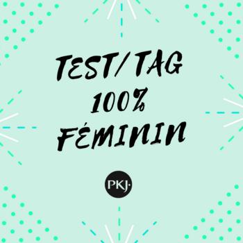 Test/tag 100% féminin