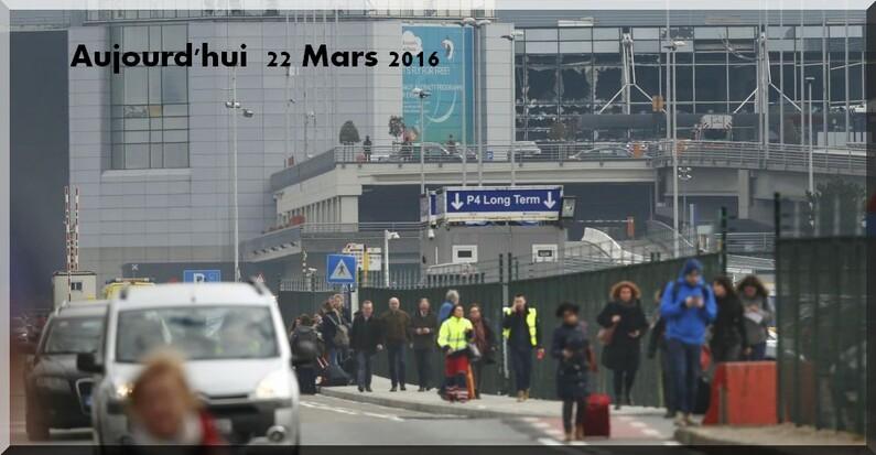 Pour nos amis Belges avec toute ma compassion pour ce terrible attentat !