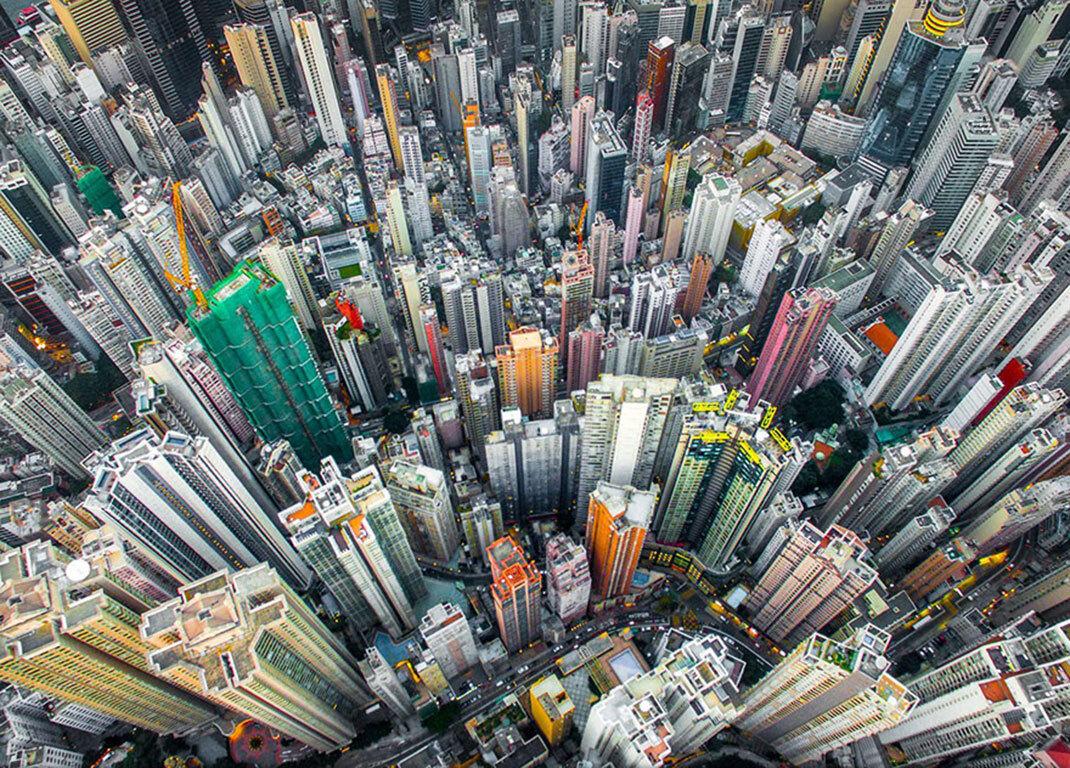Jungle urbain de Andy Yeung, Hong Kong