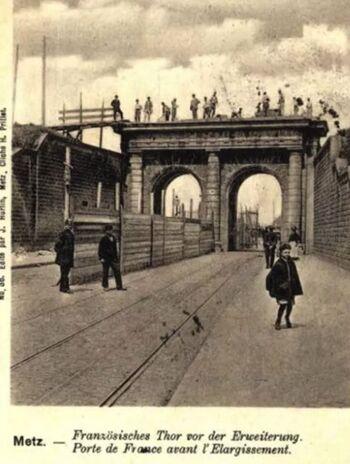 Pont des Morts, vers 1800